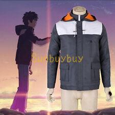 Your Name Kimi no Na Wa Taki Tachibana Winter Coat Anime Cosplay Costume Jacket