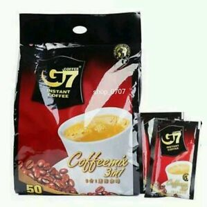 Trung Nguyen G7 Instant Coffee 3in1 Coffeemix 16g x 5/10/20/25/50/100/150