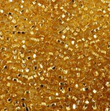 17050 TOPAZ SILVER LINED Preciosa Czech Glass Seed Beads 6/0 8/0 10/0 11/0 20 gr