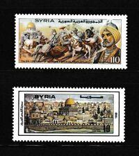 Syria, Syrien, 2 Issues 19871998  , al-Quds , Jerusalem ,MNH