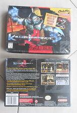 Killer Instinct Snes Super Nintendo Super Nes Mint boxed never opened NEW SEALED