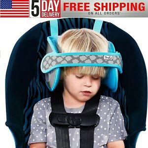 Adjustable Child Car Seat Head Support Head Support Belt Comfortable Safe Sleep