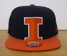 OSFM Youth Zephyr Illinois Fighting Illini NCAA Peek SnapBack Hat Cap new NWT