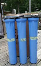 """3 Stage water filtration system, used 21"""" tall"""
