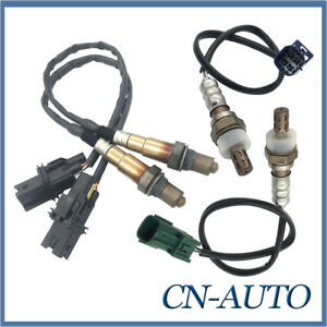 4X Pre-cat+Post-Cat Oxygen Sensor For Nissan Pathfinder R51 VQ40DE 4.0L 2005-13
