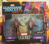 NEW Marvel Legends Guardians of The Galaxy Star-lord & Yondu 3.75 Inch 2 Pack