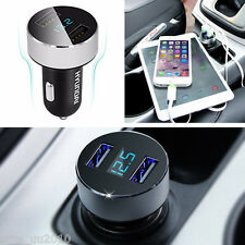 Travel Dual USB 2-Port 5V 3.1A Auto Car Charger Adapter For Samsung Honor Plug