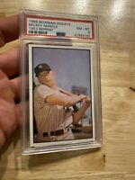 Mickey Mantle PSA 8 Bowman INSERT Card Vintage 1989 Jumbo INVEST Man Cave GIFT