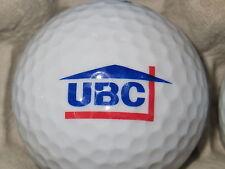 (1) Ubc Corporation United Building Corp Logo Golf Ball