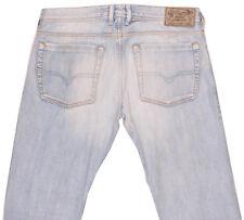 DIESEL ZATHAN Wash 008SZ Mens Tapered Slim Skinny Fit Faded Jeans W32 L30 32x30