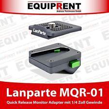 Lanparte MQR-01 mini Quick Release Adapter für Monitor und Zubehör (EQ439)