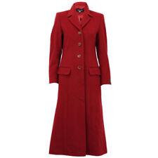 Cappotti e giacche da donna rosso Lana con Bottone