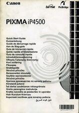 """* CANON : """" PIXMA iP 4500 * ( Stampante ) - periodo Anno 2007 !"""