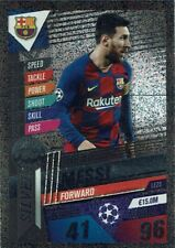 Topps Match Attax 101 19/20 Limited Edition LE2S Lionel Messi Silver LE 2S