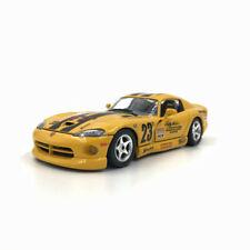 Bburago 1/24 Deborah Loth Racing Dodge Viper GTS Coupe Yellow With Racing Stripe