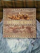 Music Of World War II WW2 Original Recordings Boxed Set Of 4 Audio CD's.