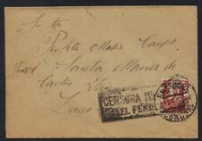 SPAIN 1937 EL FERROL CENSORED COVER TO DUGO