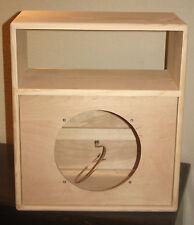 rawcabs 4u rack mount 1x12 open or close back unloaded pine speaker cabinet diy
