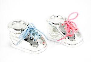 Zahndose Lockendose Silber Schuh Turnschuh Junge Mädchen Taufe Gravur Geschenk