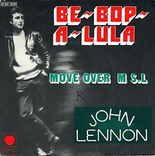 "7"" John Lennon (Beatles) – Be-Bop-A-Lula / Move Over Mr. L.// French 1975"