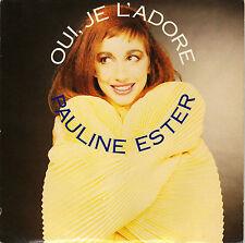 PAULINE ESTER OUI JE L'ADORE / NUIT GRISE FRENCH 45 SINGLE