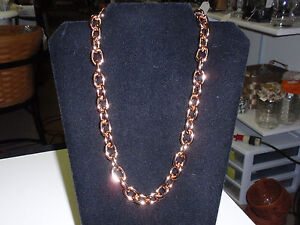 """Park Lane Jewelry, """"CONNECTIONS"""" Necklace, Rose Gold Bold Chain. New!!!"""