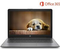 "HP Stream 14"" HD Intel Dual Core 2.60GHz 32GB SSD 4GB RAM Webcam Windows10 Black"