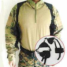 Universal Gun Armpit Holster Pouch Bag Horizontal Shoulder Pistol Holster Belt