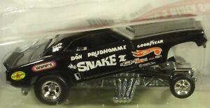 Hot Wheels Prudhomme Cuda Dragstrip Demons #1 2008 new in package