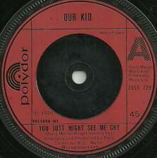 OUR KID - YOU JUST MIGHT SEE ME CRY - 1976 - ORIGINAL 70s BOYBAND POP VOCAL