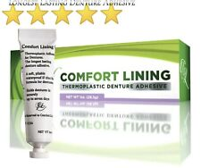 Comfort Lining - LONGEST LASTING denture adhesive on the market today! (1oz/28g)