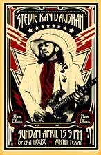 Stevie Ray Vaughan Tour Poster, Mordern Print Artwork, Wall Hanging, Home Decor