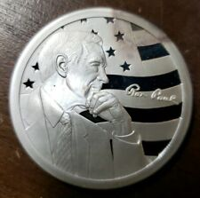 Ron Paul Peace Freedom Prosperity 1 oz. 999 Silver PROOF Round Coin