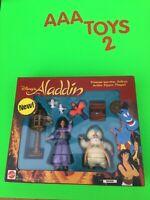 Disney Aladdin TV Series Action Figure Playset JASMINE SULTAN IAGO SEALED MIB