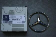 Original Mercedes-Benz W124 W201 Rear Trunk Boot Emblem Badge A2017580058