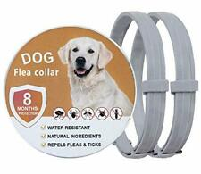 New listing 2 Pack Flea Collar for Dogs, Allergy Free and Hypoallergenic Dog Flea & Tick