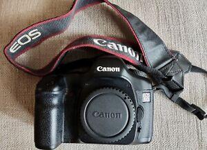 Canon EOS 5D 12.8MP Digital SLR Camera - Black / FAULTY / BOXED