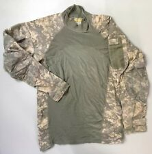 Massif M Army Combat Shirt Digital Camo Camouflage Medium Pockets Soft Light Wt