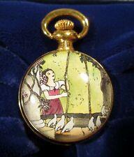 Halcyon Days Snow White Disney Small Pocket Watch