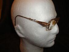 Vintage Diva Italy Eyeglasses Crystal Eye Glasses Eastern States with Case