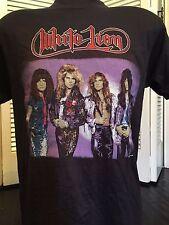 Vtg 88 White Lion Pride Tour Shirt Sz M Ratt Rock Halen Metal Dokken Crue Poison