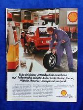 VW Golf ATS Cup Reifen Shell - Werbeanzeige Reklame Advertisement 1977 __ (157-2