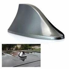 1kit Shark Fin Car Roof Mount Radio Grey Decorating Aerial Antenna FM/AM Signal