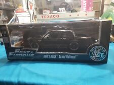 JADA FAST & FURIOUS DOM'S BUICK GRAND NATIONAL 1:18 BLACK CC COLLECTOR'S CLUB