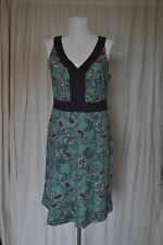 REI Size S Multicolor Floral Pattern Cotton Stretch Dress
