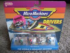 Galoob / Micro Machines, DRIVERS, Riders Collection #3, w/BONUS VEHICLE,1991,NIP
