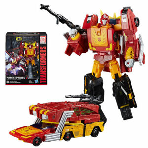 """Transformers Generations Power of the Primes Leader Rodimus Prime Figure 8"""" Toy"""