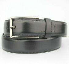 """Kenneth Cole Black Leather Smart Formal Belt Size 32"""" / 80cm"""