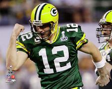 Aaron Rodgers SUPER BOWL XLV FLEX Green Bay Packers Premium NFL POSTER Print