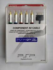 Offical Sony PSP Go/PSP-N1000 Component AV Cable Brand New Sealed